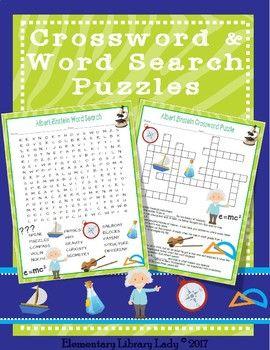 I Am Albert Einstein Activities Meltzer Book Crossword Puzzle