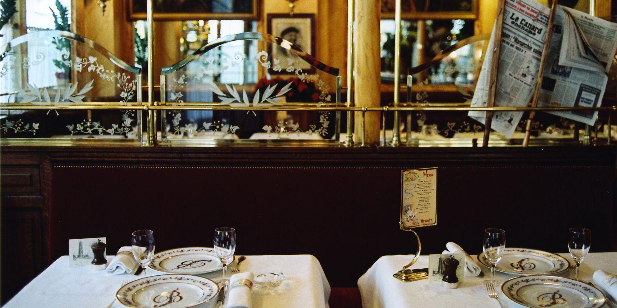 Chez Benoit Restaurant Paris
