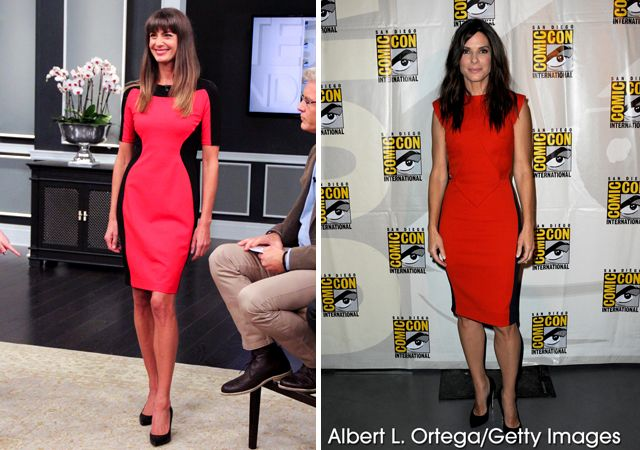 Celebrity Styles For Less Steven And Chris Sandra Bullock Celeb