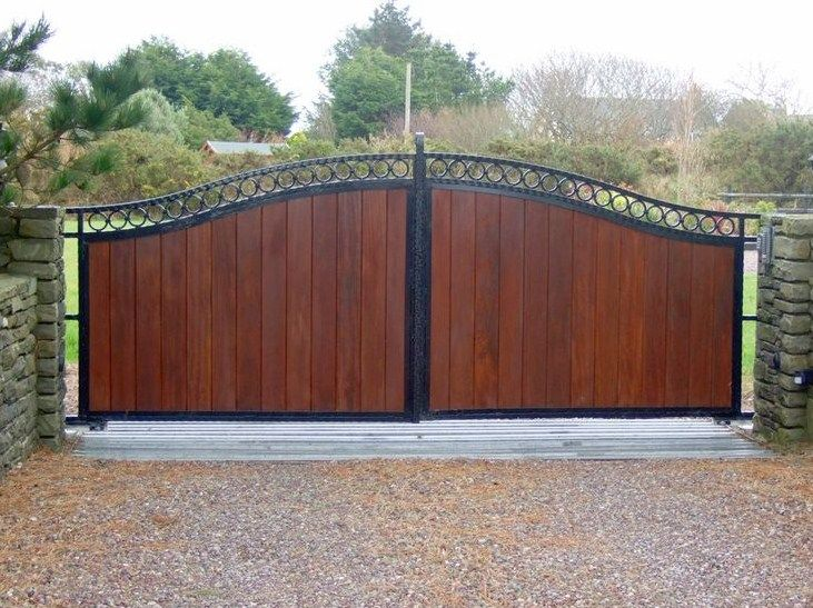 Beautiful Contemporary Gate Designs Wooden Gate Designs Wood Gates Driveway Contemporary Gates