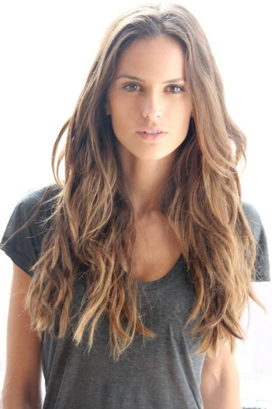 Izabel Goulart. #hair