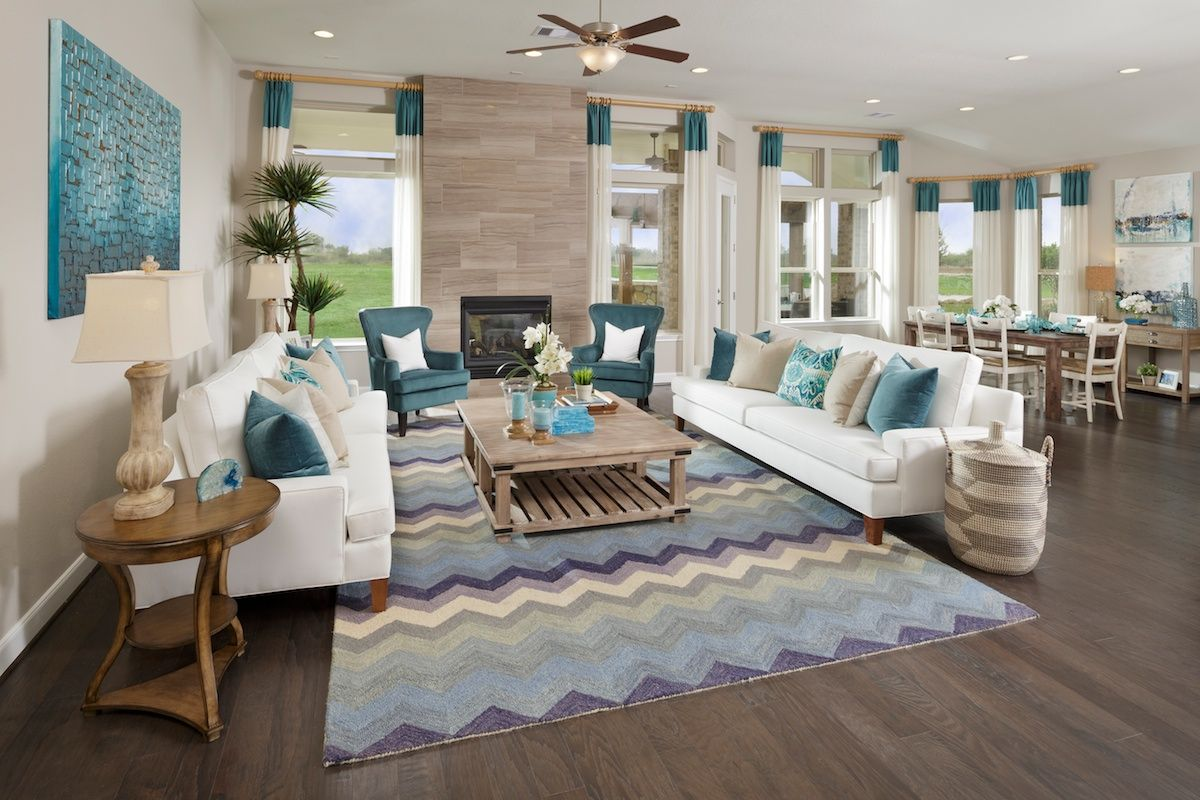 living room arrangements%0A New Homes in Pearland  TX  Shadow Grove Estates      Great Room