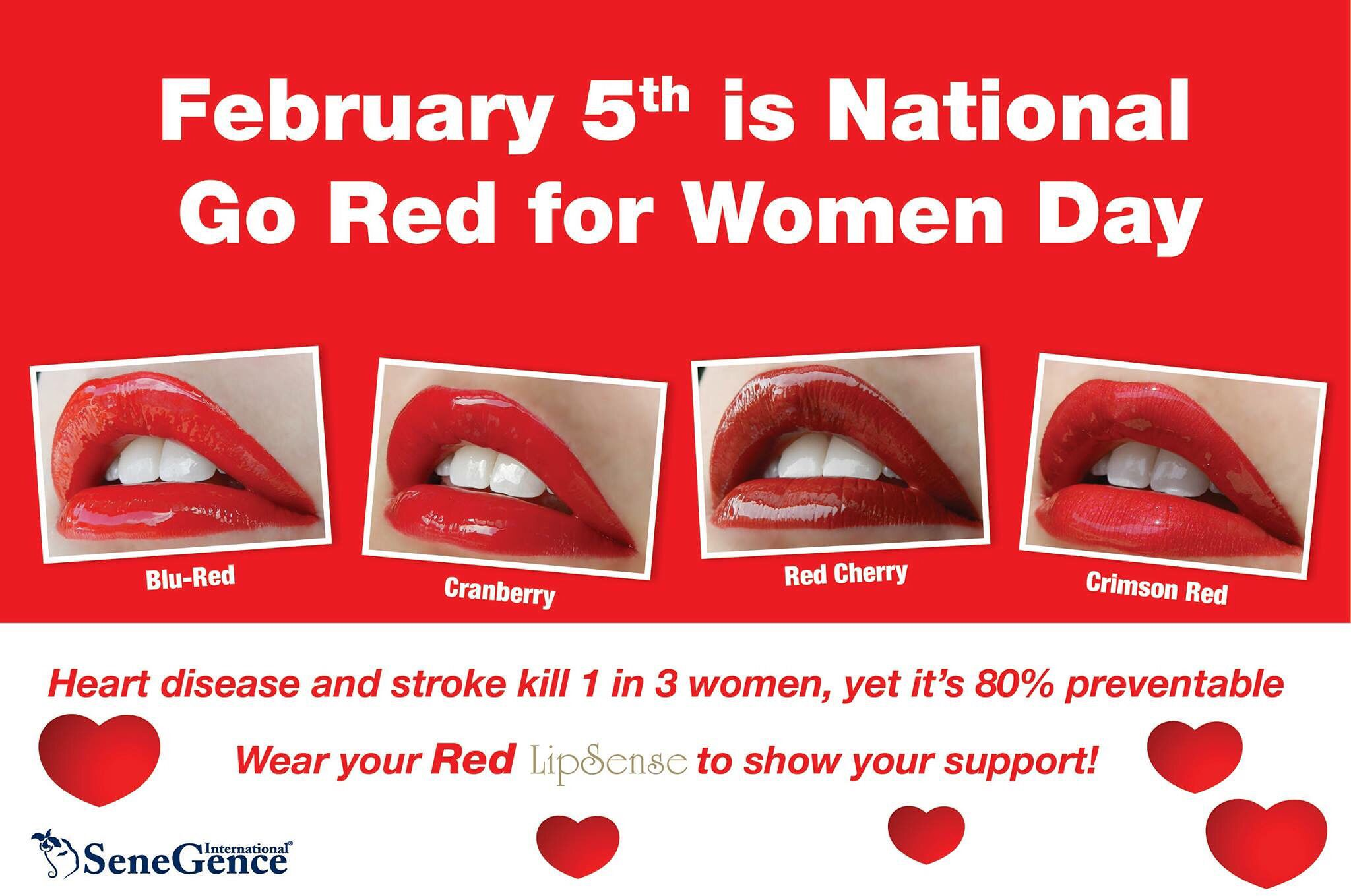 Friday February 5th Is National Go Red For Women Day Did You