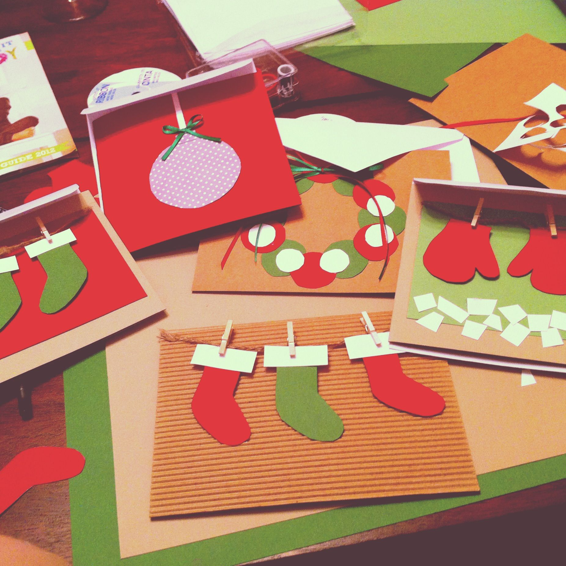 DIY Christmas Cards ideas for childrenu0027s hospital