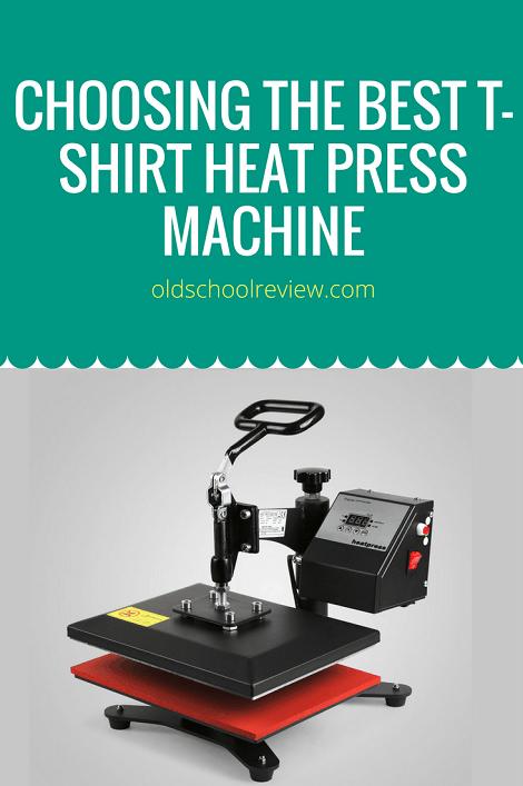 Choosing the Best T-Shirt Heat Press Machine | Heat press ...