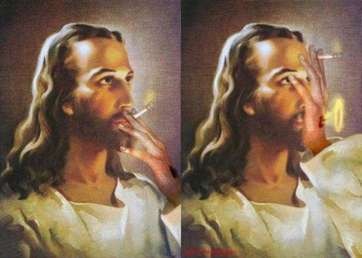 jesus making balloons