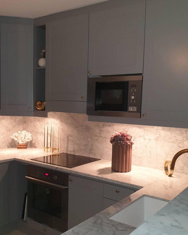 """Maral 🌸 on Instagram: """"Välkomna alla nya följare, kul att  ni hittat hit hoppas att ni får massa inspiration här 😍   #kitchendesign #kitcheninspo #marbledesign…"""""""
