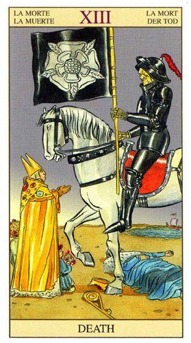 Vinyl Sticker Decal Full Color CAD Cut Car occult The Hierophant Tarot Card