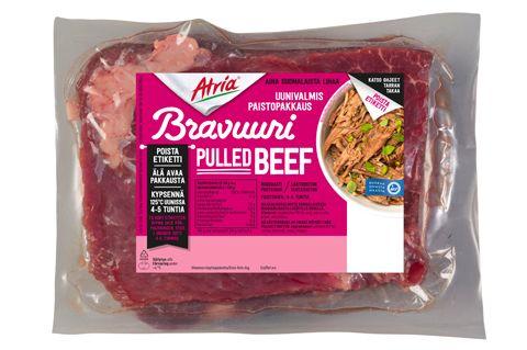 Atria Bravuuri Pulled Pork ja Pulled Beef