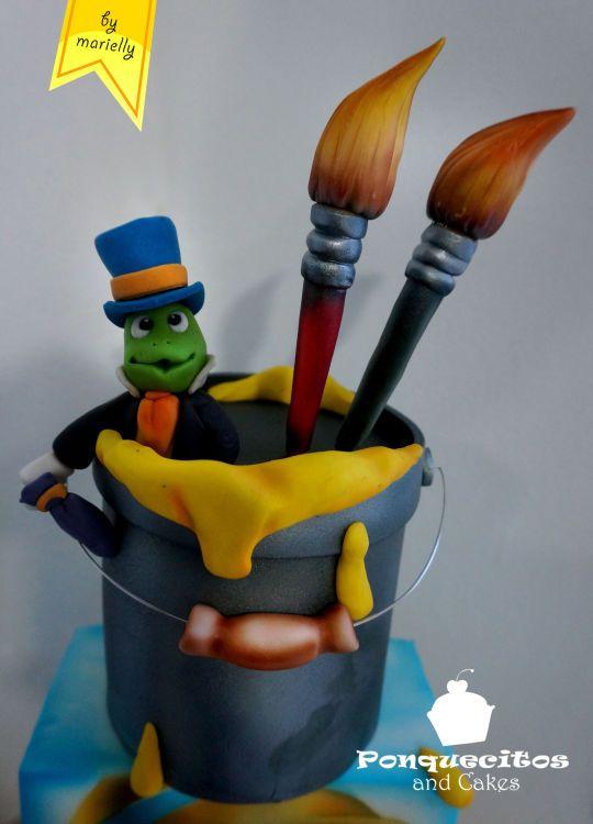 Pinocho Airbrush Cake