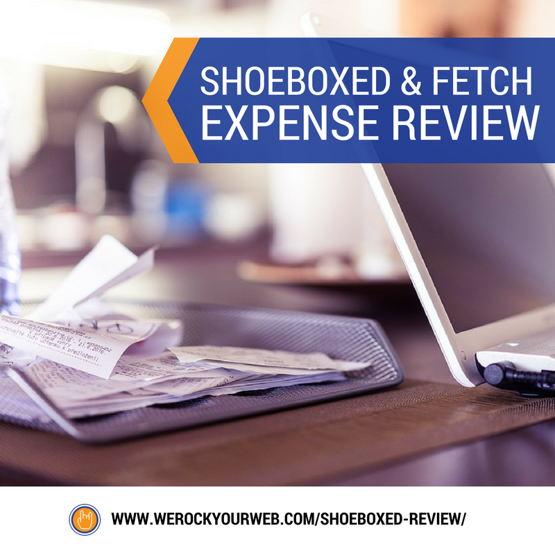 Shoeboxed & Fetch Review (Track Receipts & Expenses On The