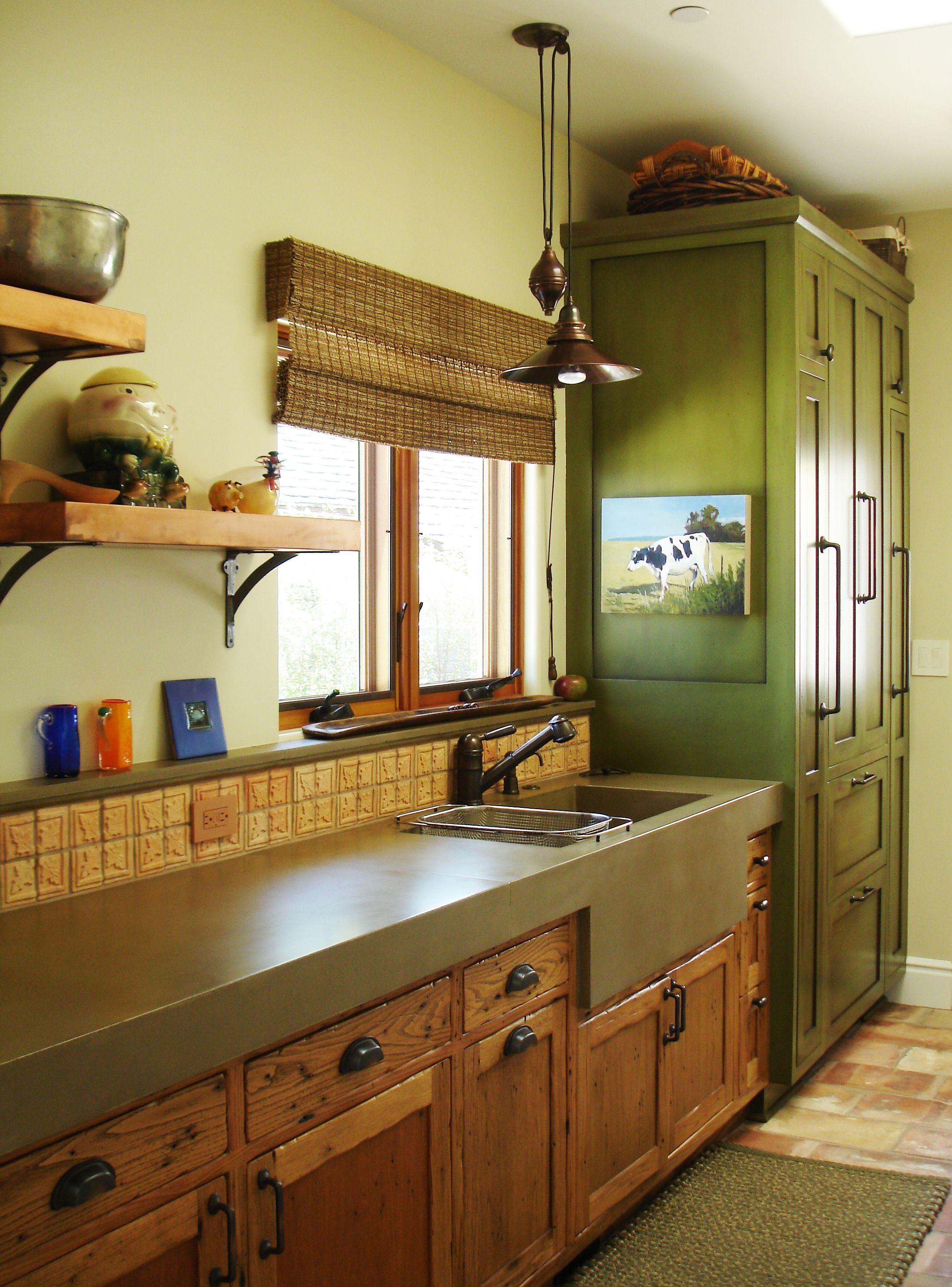 Eclectic ranch kitchen design Eclectic ranch kitchen