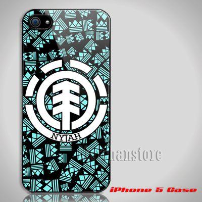 Nyjah Imani Huston Element Skateboarder Custom iPhone 5 Case