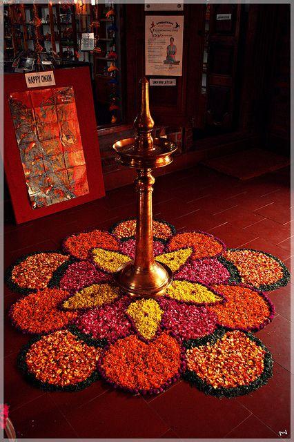 Flower rangoli. Diya Decoration IdeasIndian DecorationTable DecorationsDiwali ... & A fragrant welcome | Flower rangoli Diwali and Flower