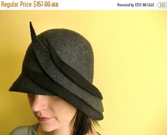 Dieser Hut Ist Handgemacht Es Besteht Aus 100 Wollfilz In