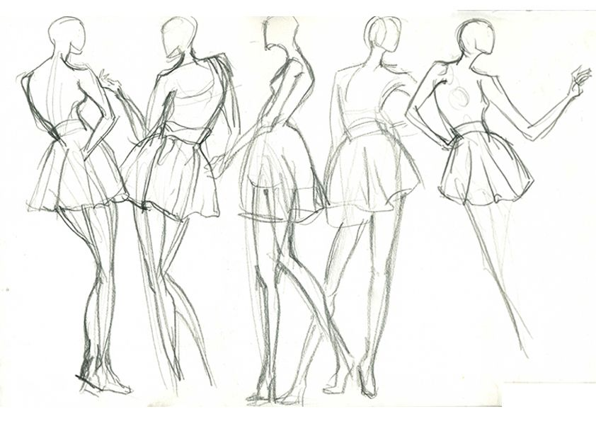 fashion illustration different poses - Google Search | mode dessin ...