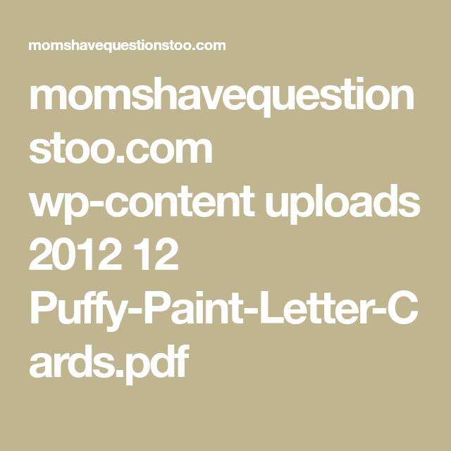 momshavequestionstoo com wp content uploads 2012 12 puffy paint