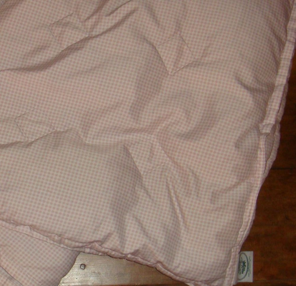 Laura Ashley Down Feather Filled Decorative Throw Blanket Pink