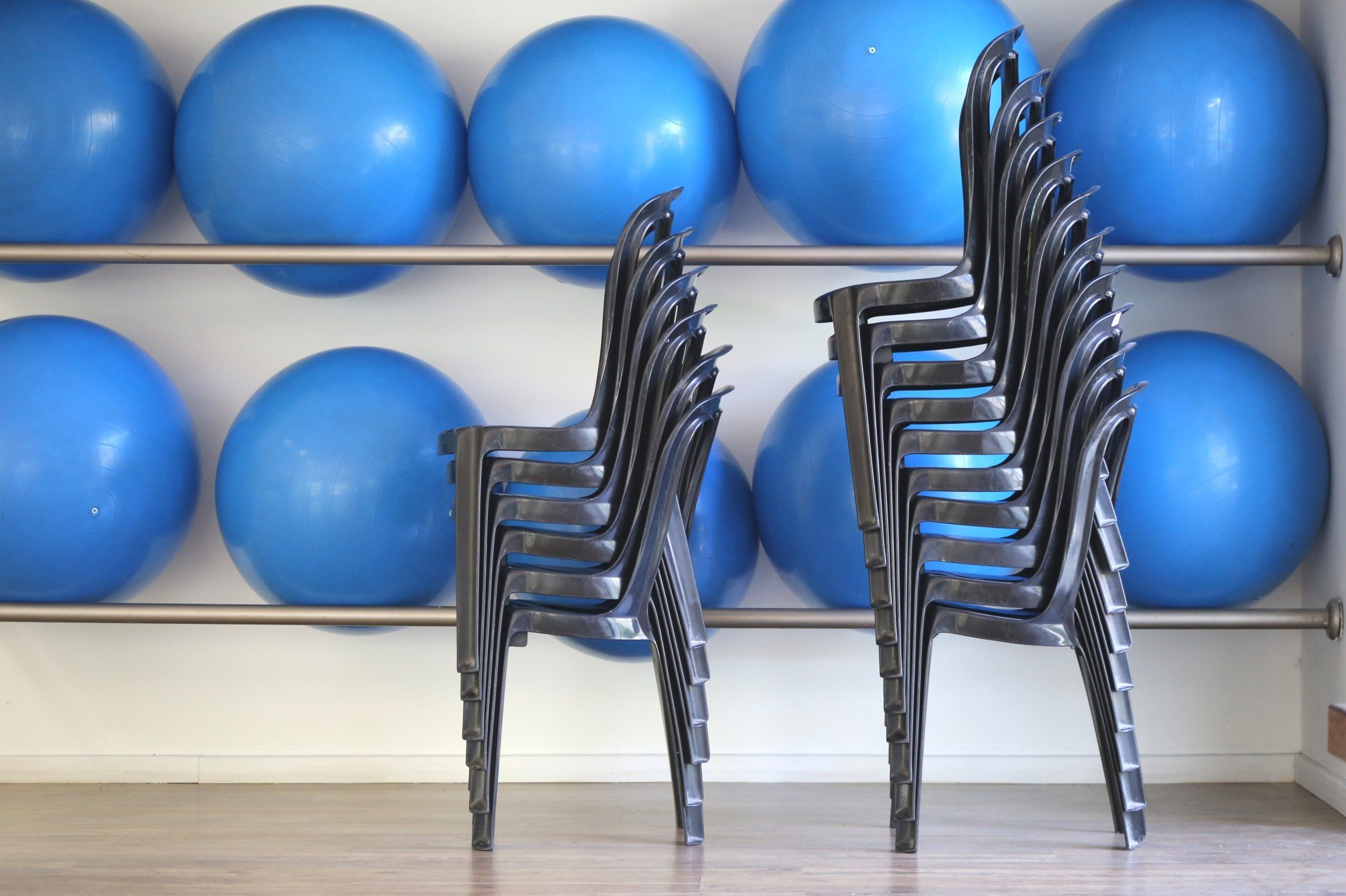 Chair Core Exercises