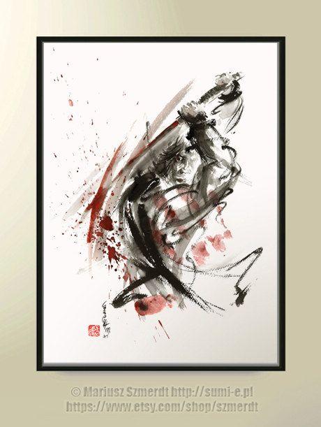 Samurai samurai painting samurai art ronin warriors by ...