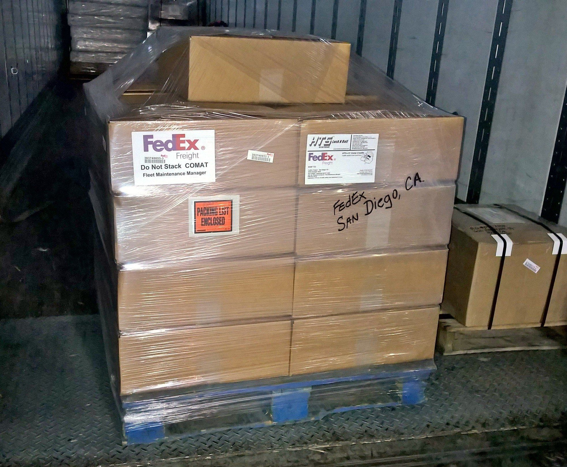 Hts systems htscc18 cone cradle order for fedex freight