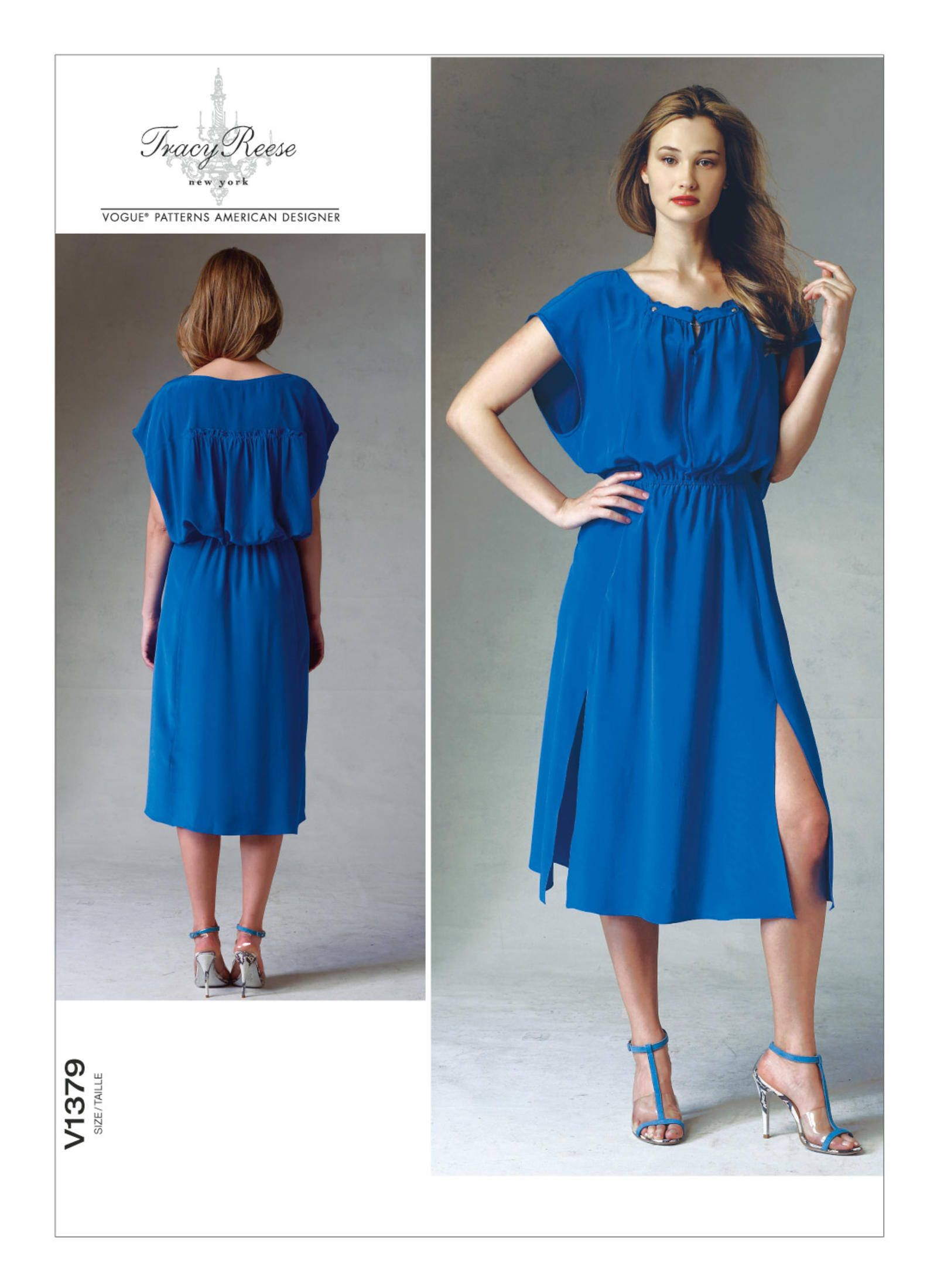 Vogue dress patterns plus size