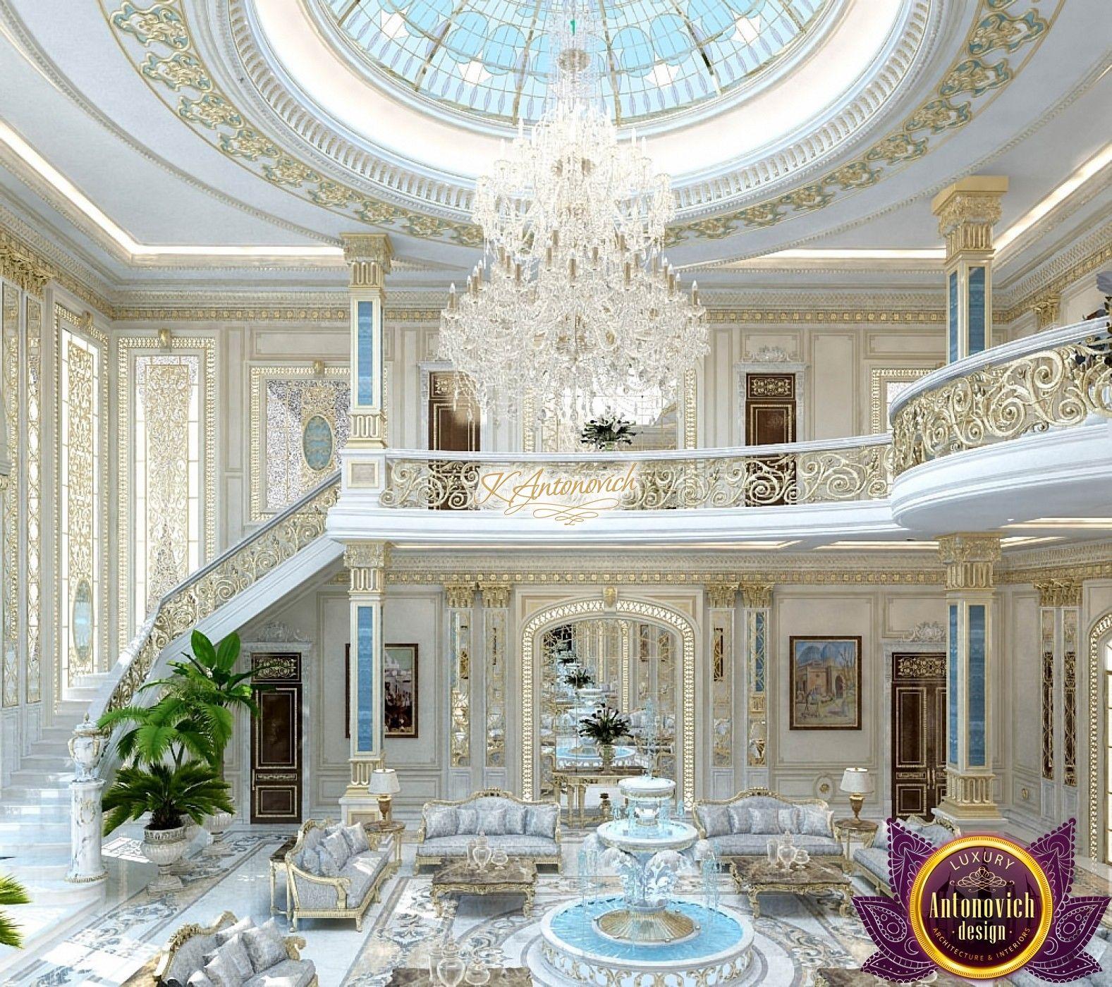 Interior Design In Kuwait Luxury Mansions Interior Mansion