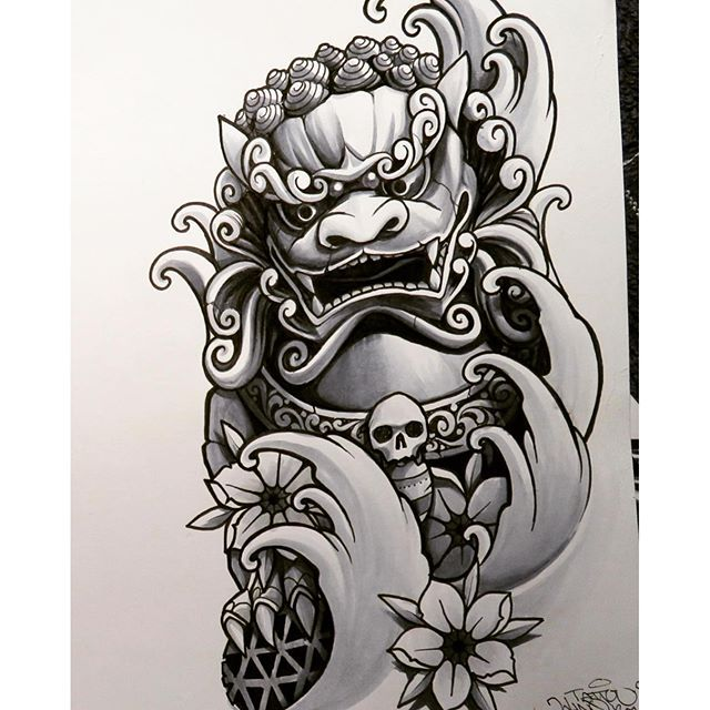 Pin By Feebee1312 On Foo Dog Tattoo Foo Dog Tattoo Design Foo Dog Tattoo Japanese Tattoo Art