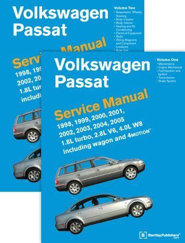 Volkswagen Passat (B5) Service Manual 1998, 1999, 2000