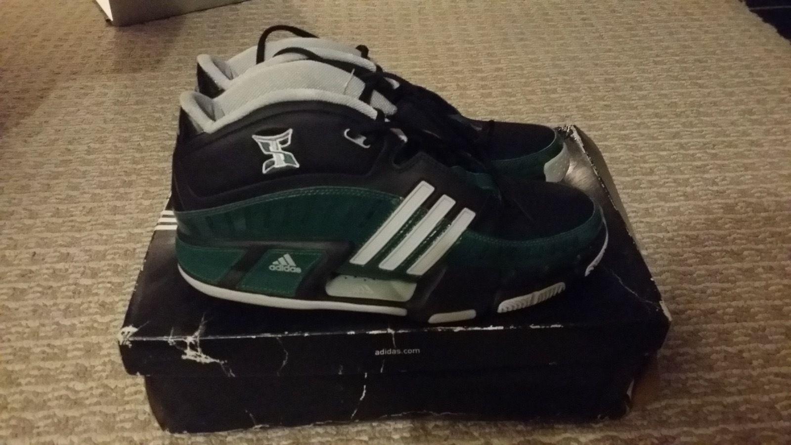 Adidas professore nba verde promo scarpe da basket verde nba / nero Uomo 46 0e40d1