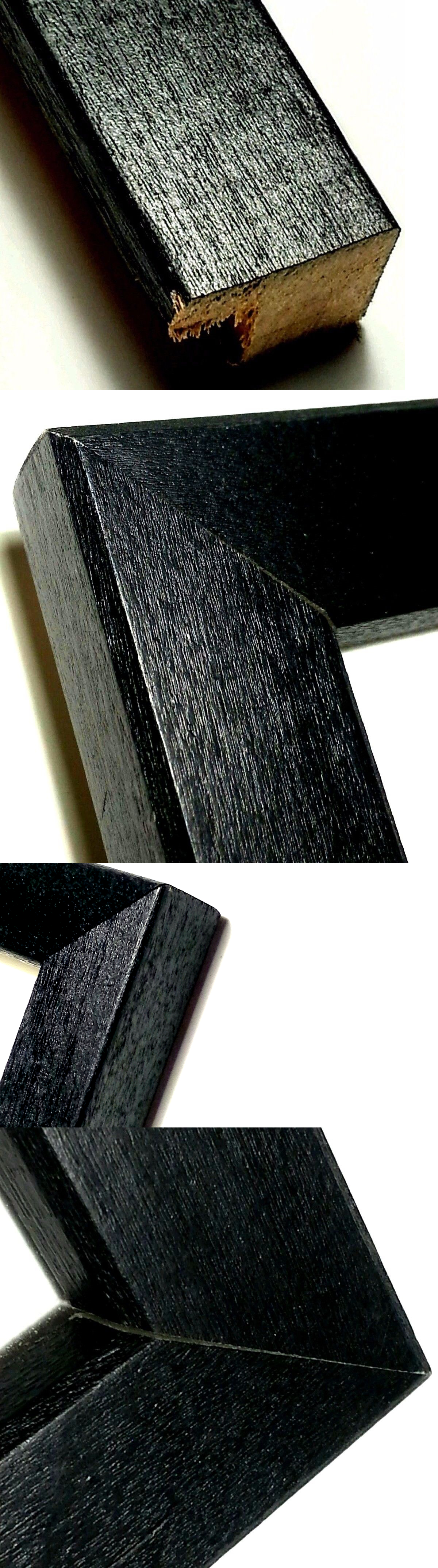 Frames and Supplies 37575: 48 Ft - Black Picture Frame Moulding~Real ...
