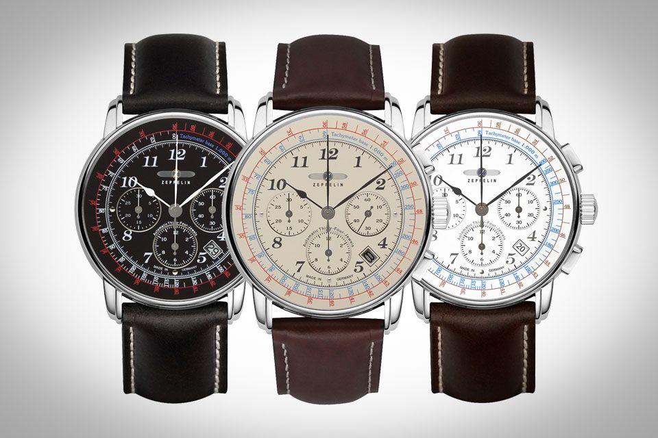 vente chaude en ligne 7034b f23d0 10-montres-automatiques-moins-1000-euros-Zeppelin-LZ126-Los ...