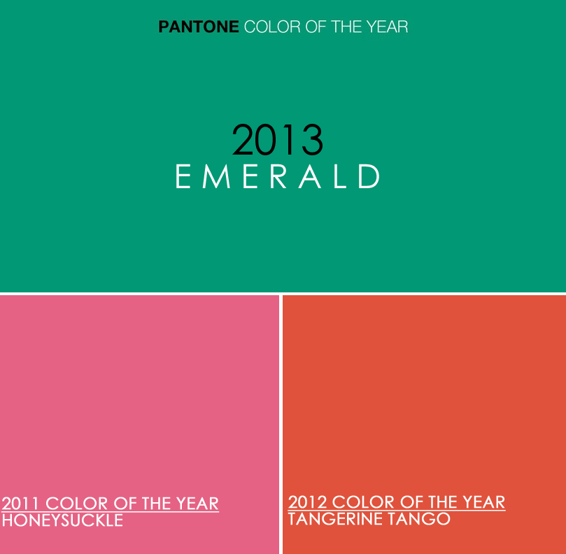 6 Ways to Use Trendy Colors in 2013