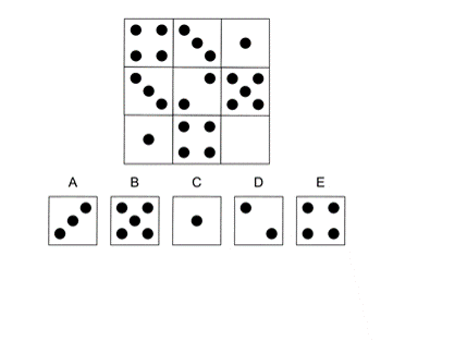 3. Look at the shapes in the boxes across the rows and up