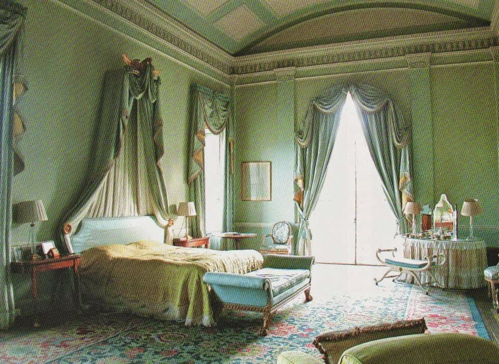 The Current Master Bedroom At Cotswold House Sezincote Photo From John Fowler The Prince Of Decorators 1800s House Mansion Bedroom Disney Home Decor Indian style house gloucestershire