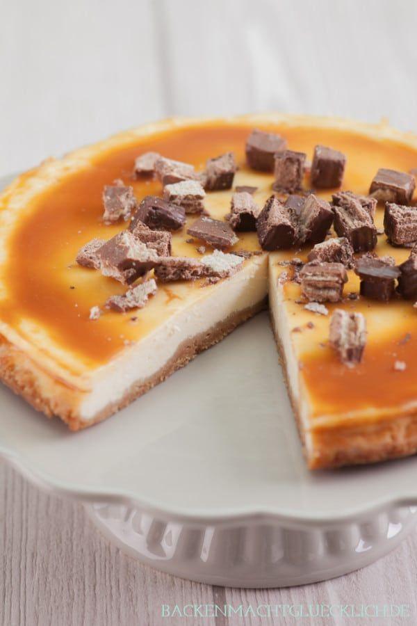 American Cheesecake mit Karamell | Backen macht glücklich