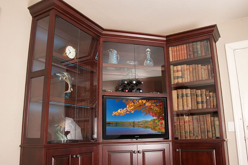 C 210 Wall Unit Is The Perfect Corner Unit For A Flat Panel Tv
