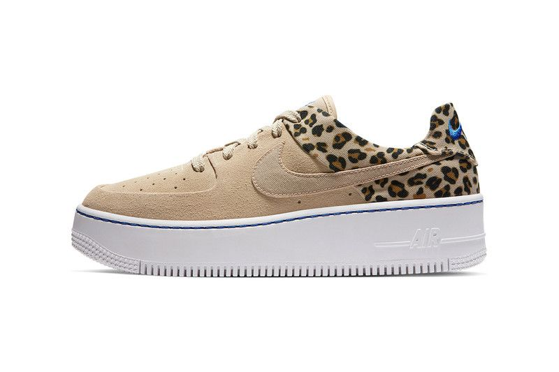 Nike's Air Force 1 Sage Low Returns With Leopard Print