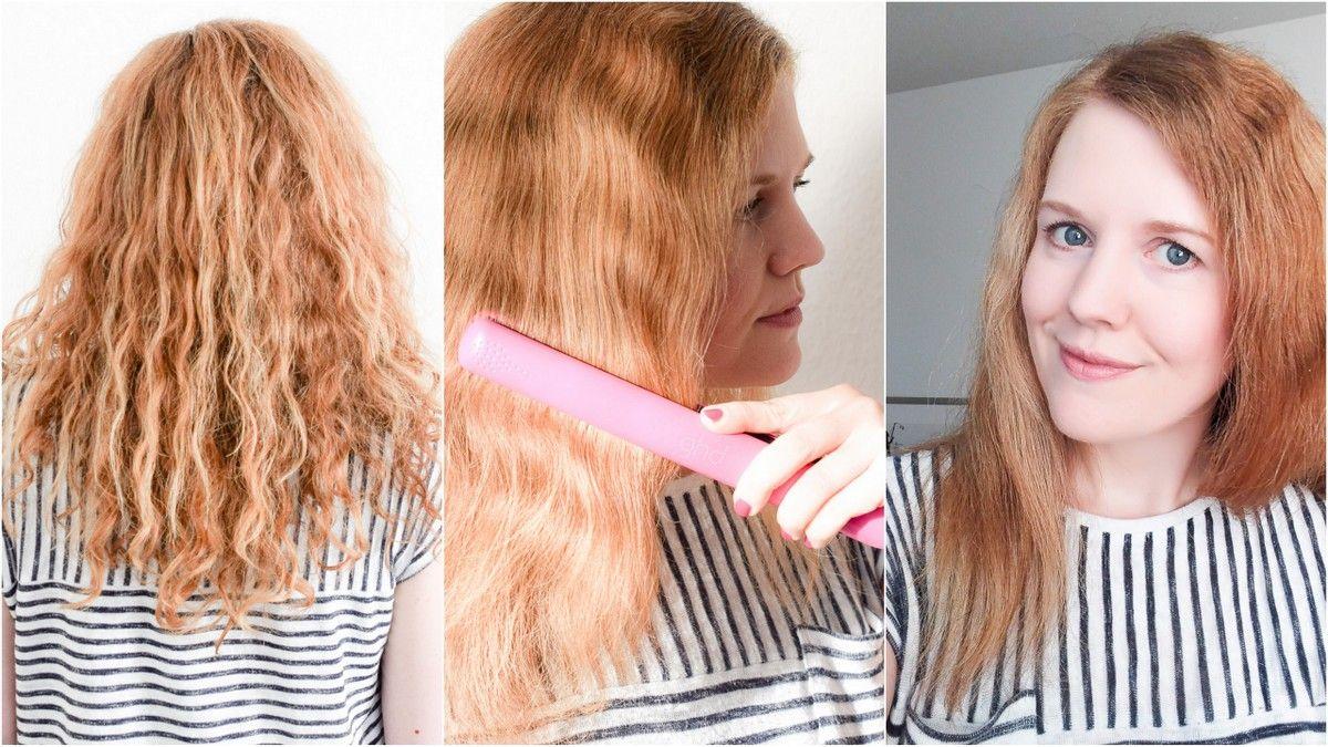 Ghd V Electric Pink Styler Glätteisen Für Dicke Lockige Krause