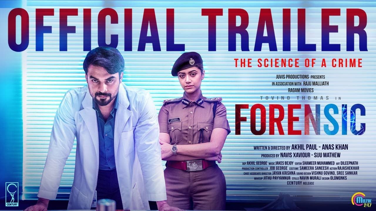 Forensic Malayalam Movie Official Trailer Tovino Thomas Mamtha Mo In 2020 Crime Thriller Thomas Movie Movie Teaser