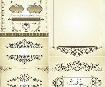 Vintage decorative wedding frames vector design resources vintage decorative wedding frames vector junglespirit Choice Image
