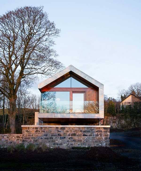 Modern Stone Cottage modern stone cottage   houses   pinterest   stone cottages, modern