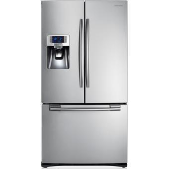Refrigerateur Combine Inverse Samsung Rfg23uers Inox Frigo Americain Frigo Americain Samsung Refrigerateur Americain