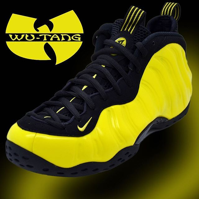 official photos d04f7 bb083 NIKE AIR FOAMPOSITE ONE  OPTIC YELLOW   WU-TANG  SNEAKERS  Nike  Air   Foamposite  Wutang  Sneakers