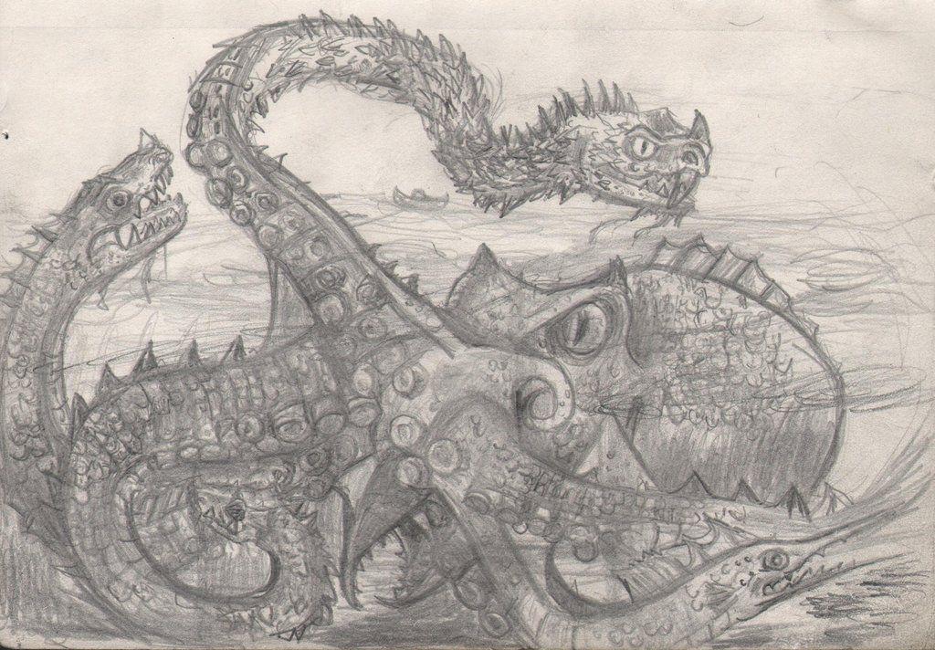 Hydra Kraken By Pre Ken On DeviantArt