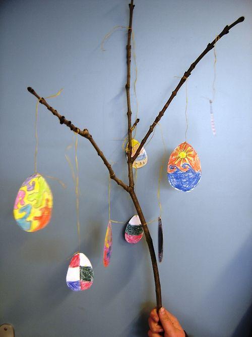 Easter Project An Art Project For 10 12 Year Old Children Voor Kinderen Schilder Kinderen