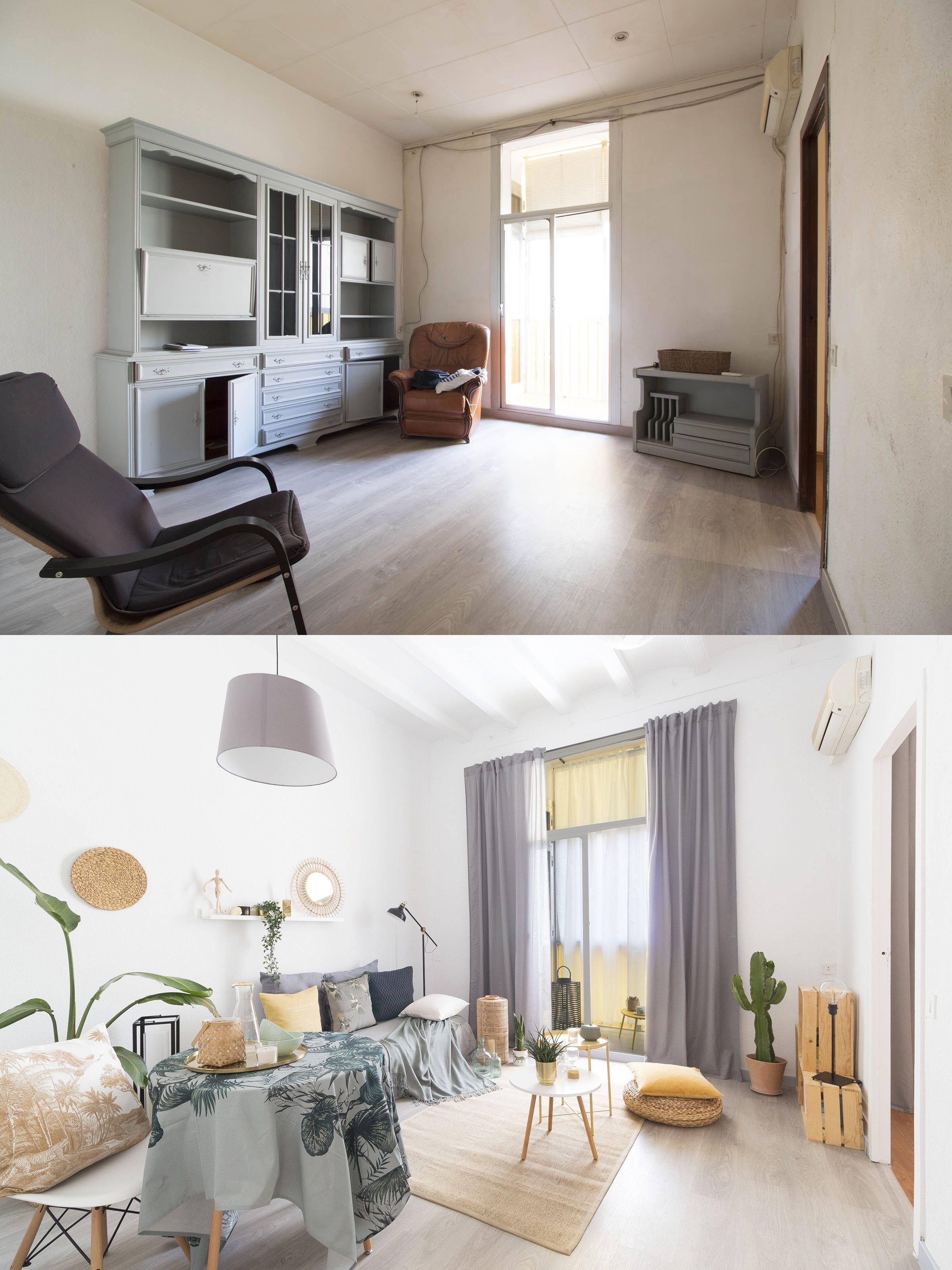 Home Staging antes y después Barcelona Home staging