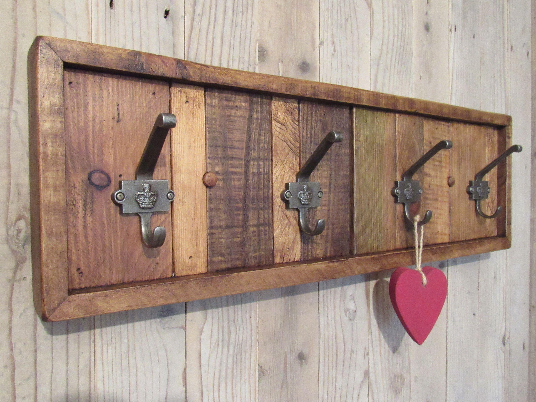 Pin by John Mundy on cool stuff | Rustic coat rack, Pallet ...