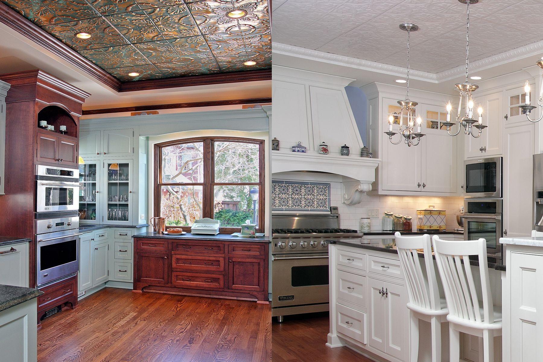 Tin Ceilings Dream Kitchen Pinterest