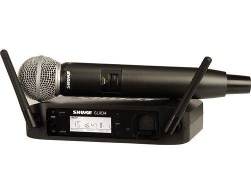Shure GLXD24/SM58  Bühne/Performance Kabellos 50m 2400 MHz Batterie/Akku     #Shure #GLXD24E/SM58-Z2 #Funksysteme  Hier klicken, um weiterzulesen.